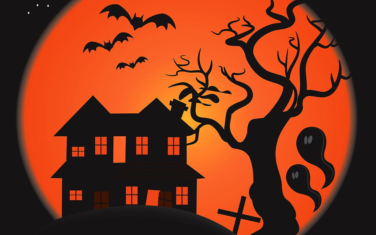 halloween black cats clipart